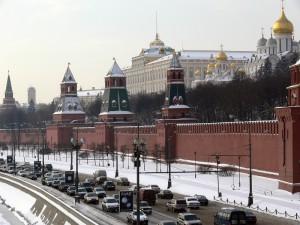 Moskevský Kreml, sídlo ruských prezidentů
